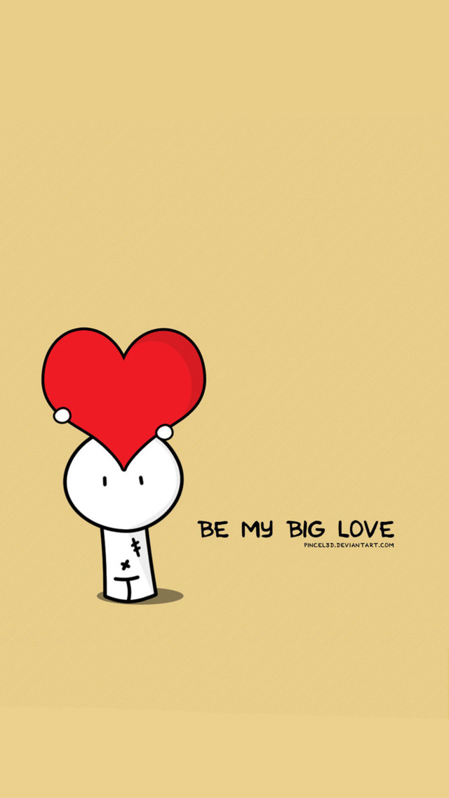 Love Wallpaper For Iphone 5c : Be My Big Love Wallpaper - Free iPhone Wallpapers