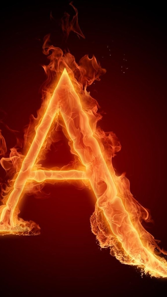 letter a wallpaper for iphone burning letter a wallpaper free iphone wallpapers 12868