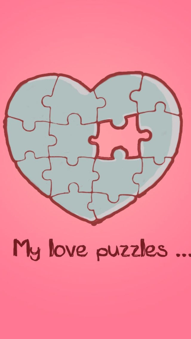 Love Wallpaper For Iphone 5c : My Love Puzzles Wallpaper - Free iPhone Wallpapers