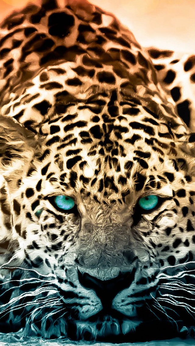 Leopard Green Eyes
