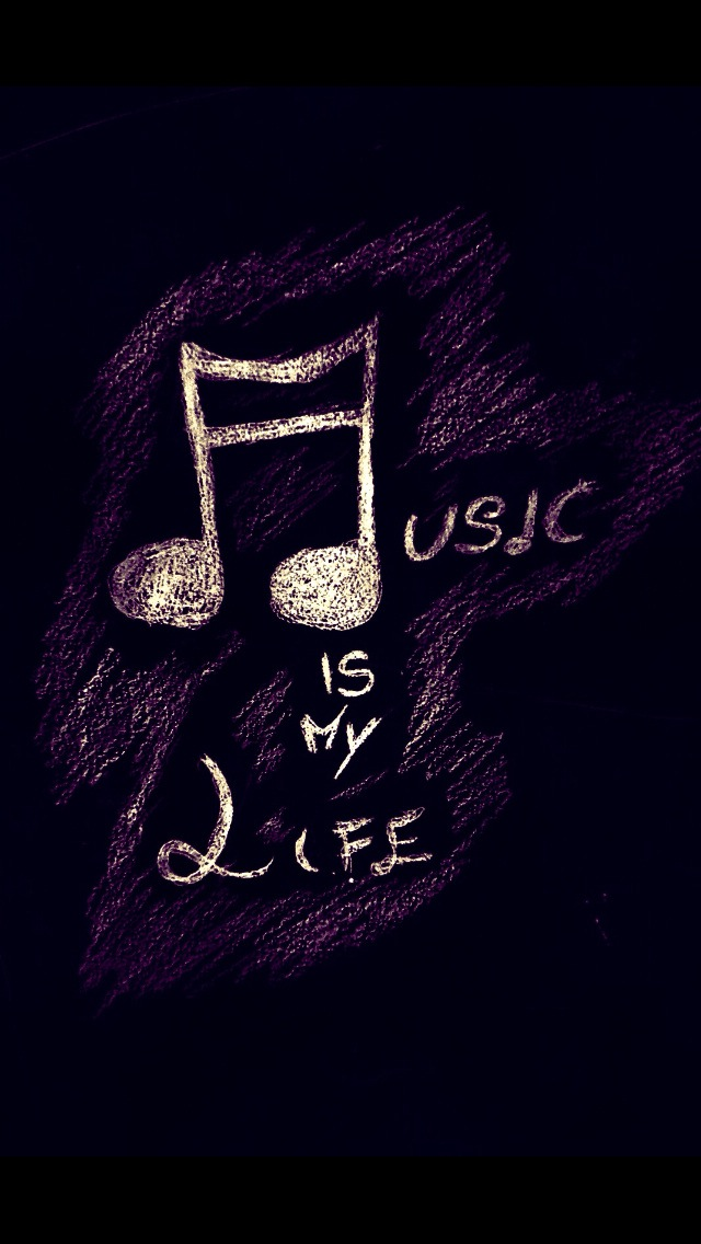 I Love You Wallpaper Iphone 5 : Music Is My Love Wallpaper - Free iPhone Wallpapers