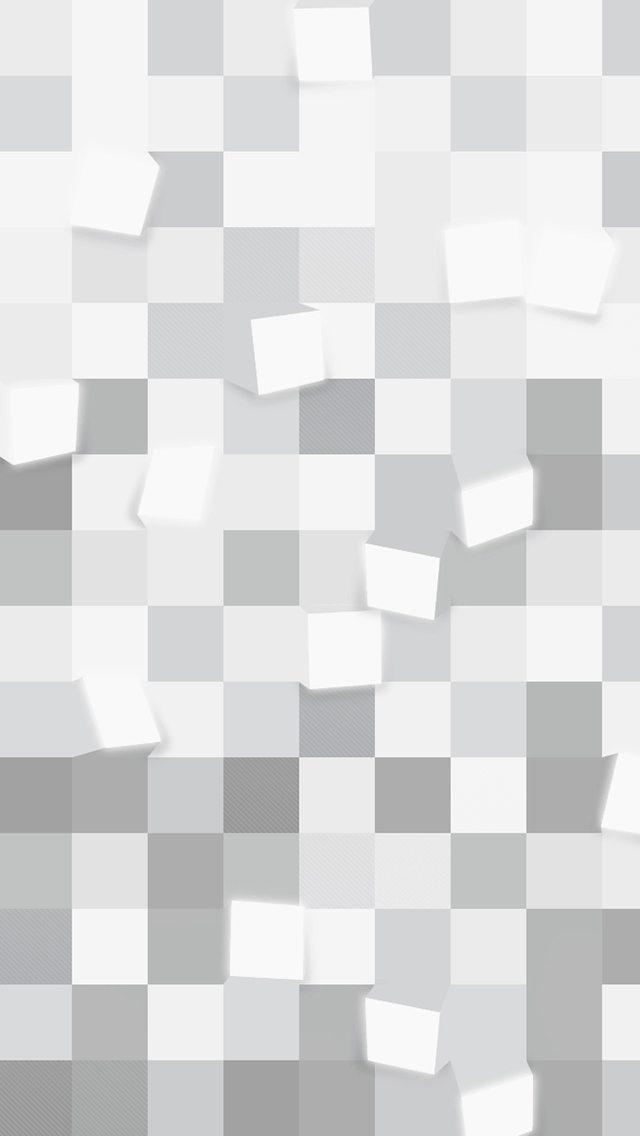 Grey Abstract Blocks