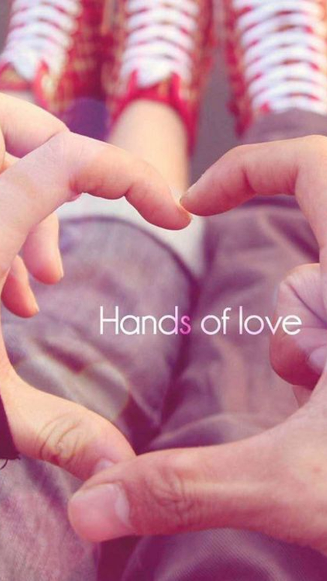 Love Wallpaper For Iphone 5c : Hands Of Love iPhone 6 / 6 Plus and iPhone 5/4 Wallpapers