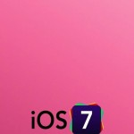 iOS 7 Logo with Pink Background