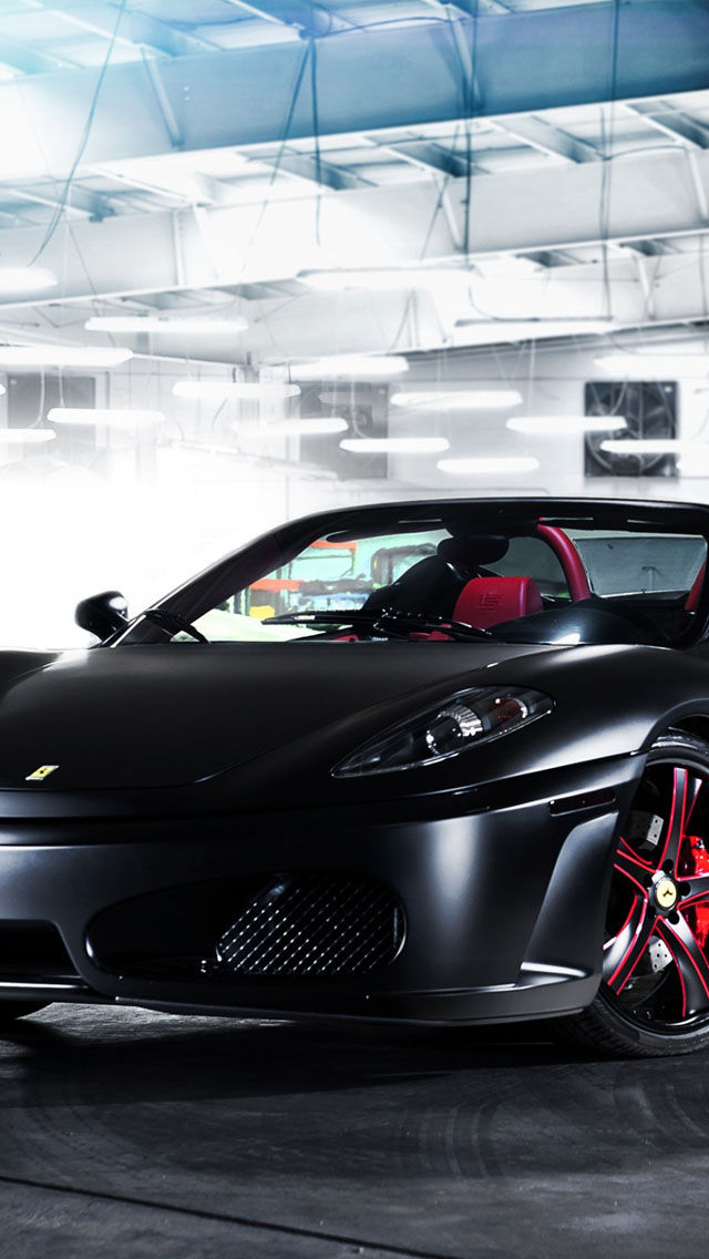 Black Ferrari F430 Spider