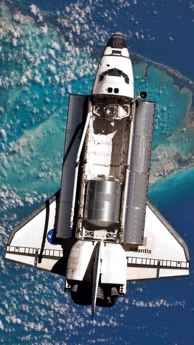 Atlantis Space Shuttle Orbit